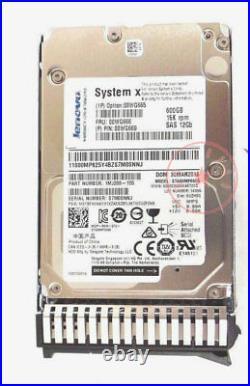 00WG665 00WG666 IBM 600 GB 15K 12GBPS SAS 2.5 Internal Hard Drive