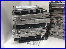 19 Mixed SCSI Hard Drive All Untested Sold As Faulty