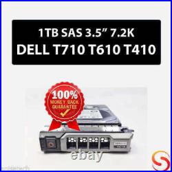 1TB 3.5-inch (LFF) (SAS) 6G 7.2K Hot-Plug Midline (MDL) Hard Drive Seagate