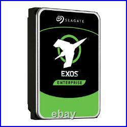 2TB Seagate Exos 7E8 ST2000NM0045 SAS Hard Drive, 3.5 HDD, SAS 12Gb/s, 7200rpm