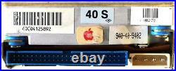 40mb 3.5 SCSI Hdd, 40s, 0278, Prodrive, 800-09-93 2.1, 2, Apple