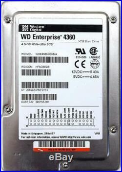 4.3gb SCSI Hard Drive