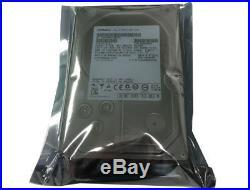 4 X 2TB (8TB) 3.5 HGST Hitachi 7.2KRPM SAS SCSi Server Hard drive SAS HDD+Tray