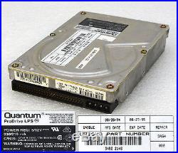 50 Pin 270mb Quantum Prodrive Lps 270s Scsi2 Hard Drive Hard Disk Drive Hdd O236