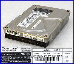 # 50-pol 270mb Quantum Prodrive Lps 270s Scsi2 Festplatte Hard Disk Drive O236
