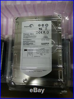 8x Seagate Cheetah 15K. 5 ST3146855LC 146GB 15K RPM 80-Pin SCSI Hard Drives NEW