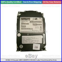 940002-035 Seagate 426MB 4400RPM SCSI 64KB Cache 3.5-inch Internal Hard Drive