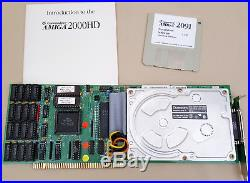 A2091 SCSI Controller 50mb Harddrive 2mb RAM 6.6 ROMs for Amiga 2000 4000