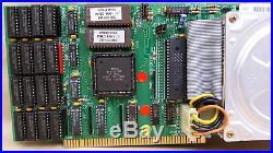 A2091 SCSI Controller 50mb Harddrive 2mb RAM 6.6 ROMs for Amiga 2000 4000
