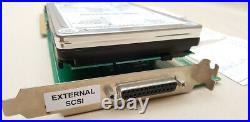 A2091 SCSI Controller with1.0gb Harddrive 2MB RAM for Amiga 2000 2000HD 2500 4000