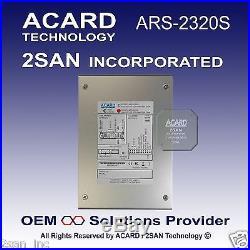 ACARD ARS-2320S Ultra320 SCSI-to-SATA II Hard Disk Drive (Non Hot SWAP 80 Pin)