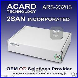 ACARD ARS-2320S Ultra320 SCSI-to-SATA II Hard Disk Drive (Non Hot SWAP 80 Pin)