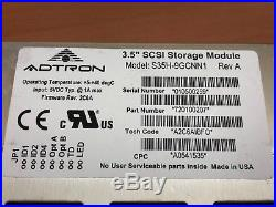 ADTRON S35H-9GCNN1 SCSI 50 Pins to IDE Hard Disk Drive 3.5 P. N 720100207