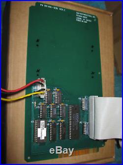 APPLE LISA SCSI HARD DRIVE Expansion CARD w. MANUAL SUN REMARKETING