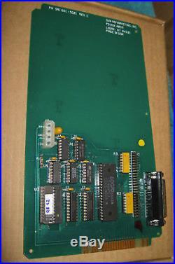 APPLE LISA SCSI HARD DRIVE Expansion CARD w. QuickBoot ROM SUN REMARKETING