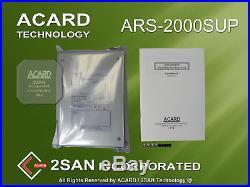 Acard Ars-2000sup 50pin SCSI to SATA II Solid State or Hard Disc Drive Bridge
