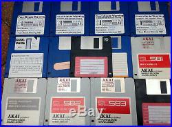 Akai Professional S950 Midi Digital Sampler with SCSI External Hard Drive
