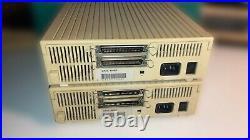 Apple 80SC Vintage SCSI Hard Drives x2 + PCI interface + cables