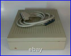 Apple External Hard Disk Drive M2603 20SC SCSI with Cables (Working & Tested)