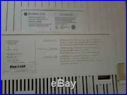 Apple External SCSI Hard Drive RARE Vintage Macintosh M2604