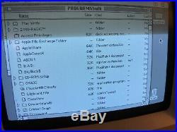 Apple Macintosh Plus, SE, 2 GB External SCSI Hard Drive, System 6.0.8 APPS GAMES