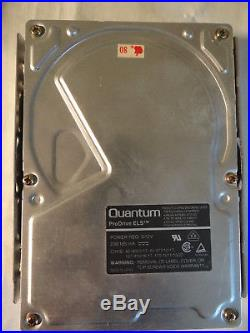 Apple Macintosh Quantum LPS 80MB SCSI Hard Drive Reloaded With 7.5.3 OS