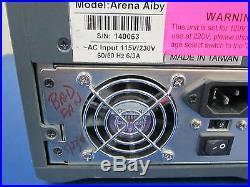 Arena AIBY 4-Bay SCSI 68-Pin Hard Drive Enclosure Fantom Drives