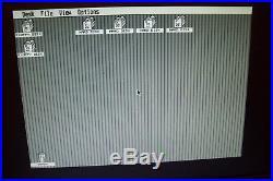 Atari 520 1040 ST STE Mega computer external hard disk drive 200MB & SCSI cable