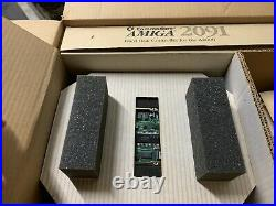 Commodore Amiga 2000 A2091 SCSI hard drive controller, with hard drive