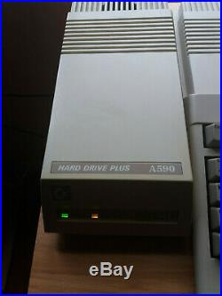 Commodore Amiga A590 Hard Drive Plus 2gb Scsi2sd 2mb Ram Fully Working