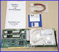 DKB RapidFire SCSI II Controller with 1gb Harddrive 8mb RAM for Amiga 2000 4000