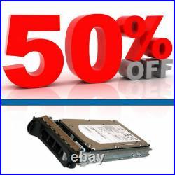 Dell 0HR200 HITACHI HUS153030VLS300 300GB 15K 3.5 SAS Hard Drive Caddy-0D981