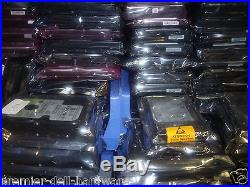Dell 36GB, 73GB, 146GB U320 80 PIN SCSI Hard Drives Job lot Qty-20