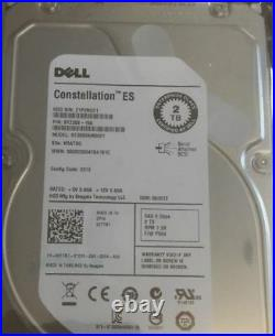 Dell 67TMT ST2000NM0001 2TB 7.2K RPM 3.5 6G SAS Hard Disk Drive with0F238F Caddy