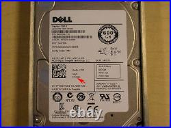Dell 7YX58 600GB 10K SAS 2.5 6Gbps Hard Drive Seagate ST600MM0006 For Dell R710