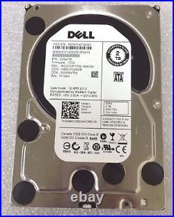 Dell Enterprise 2-TB 7.2K RPM 3.5 Inch SATA Hard Drive withF238F