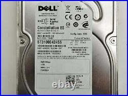 Dell U738K ST31000424SS 1TB 7.2K 6Gbps SAS 3.5 9JX244-150 Hard Drive HDD Lot 8