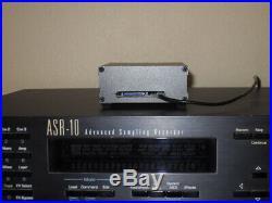 Ensoniq ASR-10 SCSI Hard Drive Emulator, 3316 sounds in directories, 4 SCSI ID#'s