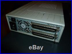 External SCSI Hard Drive Enclosure with 2 x 50 Pin Centronics Connectors