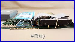 GVP HC+8 SCSI Controller with 4gb Harddrive CDROM 8mb RAM for Amiga 2000 4000