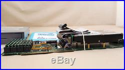 GVP HC+8 SCSI Controller with 4gb Harddrive CDROM 8mb RAM for Amiga 2000 4000 II
