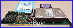 GVP HC+8 SCSI Controller with 4gb Harddrive and 8mb RAM for Amiga 2000 3000 4000