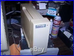 General Computer FX/20 External 20 MB SCSI Drive for vintage Macintosh 1986