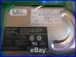 Glenayne Electronics 140-1953 Dual SCSI (270mb) Hard Drive Vme Module (used)