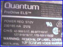 HDD Hard Disk Drive SCSI Quantum ProDrive ELS PI16S023 07-K 170S