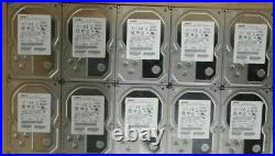 HGST 3TB 7.2K SAS 3.5 Server Hard Drive 0B26886, HUS724030ALS640 (LOT OF 10)