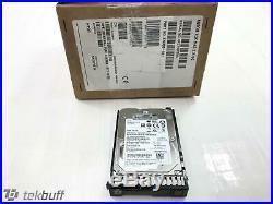 HPE 600GB SAS 12G SFF 2.5 SC 512e 15K Hard Drive 870763-B21 870797-001