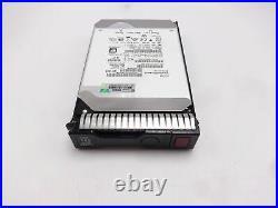 HPE Proliant DL360E G9 6TB 7.2K 12Gbps 3.5 MDL Helium SAS 3.5 Hard Drive s63