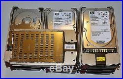 HP 146GB 10K 3.5 U320 SCSI Hard Drive HDD 286716-B22 289044-001 306637-003 LOT