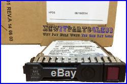 HP 1.2tb 6g Sas 10k 2.5in Dp Ent Sc Hard Drive 697574-b21 697631-001 693651-004